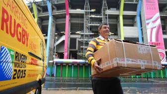 DHL blir officiell logistikpartner för Rugby World Cup 2019.