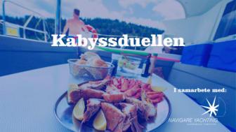 Kabyssduellen - ny recepttävling på Båtmässan.