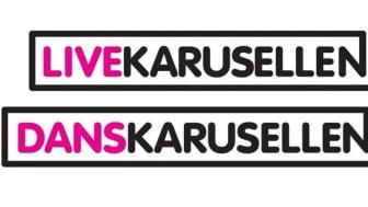 Snart sista ansökningsdag för Live-och Danskarusellen