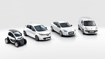 Elbil nummer 100.000 fra Renault-Nissan