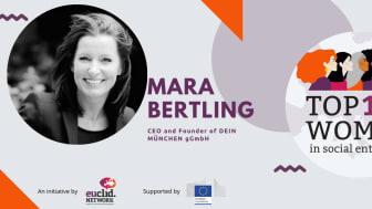 Mara Bertling unter Top 100 Women in Social Enterprises