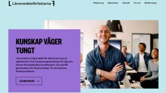 Läromedelsförfattarna får ny webbplats