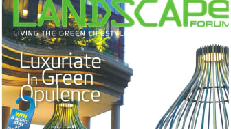 Accoya® Wood Is Featured In Landscape Forum Magazine 2013