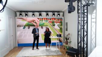 Sveparks årliga konferens var ersatt av ett webinarium som berörde flertalet aspekter på parkering. Webinariet leddes av Sveparks vd Lena Karlsson. Bild: AXL Media