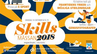 """Pressinbjudan: """"Skills""""-mässan är tillbaka den 10 oktober"""