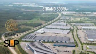 SLP och Qvana etablerar på Stigamo Södra