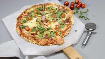 Pizza med glutenfri bunn