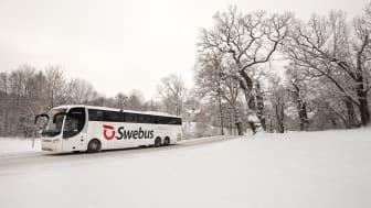 Trafikrapport från Swebus: Största resdagen är här - inga störningar i jultrafiken