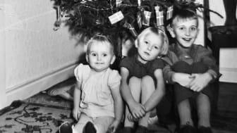 Ljud(jul)kalender med minnesskatter från 50- och 60-talen