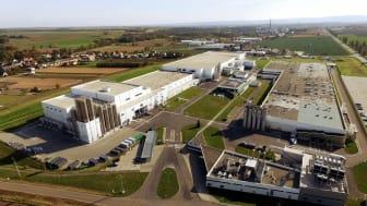 Továrna společnosti Mondelez International v Opavě