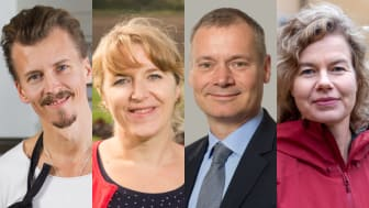 Jury Årets klimatbonde: Paul Svensson, Helena Allard, Johan Kuylenstierna och Jenny Jewert