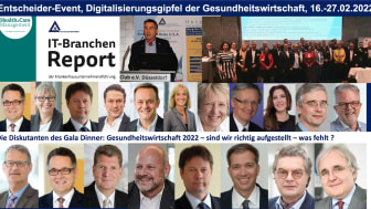 16.-17.02.2022: Entscheider-Event - Der Digitalisierungsgipfel der Gesundheitswirtschaft