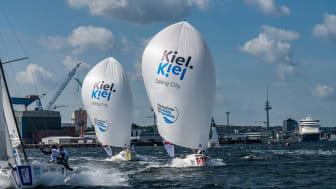 Sailing Champions League bietet Segelaction in Kiel (c)Lars Wehrmann SCL