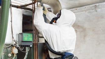 Brister i skydd för anställda vid sanerings- och rivningsarbete