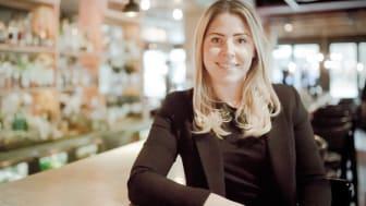 Clarion Hotel Amarantens marknadschef, Hanna Holfve är nominerad till PR Personality of the year. Foto: Silvia Adlesic Holmgren