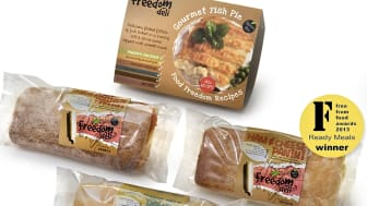 Freedom Deli wins Free From Food Award in Ready Meal category for gluten-free Panini