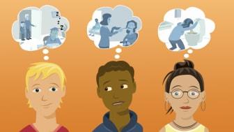 Digitala gruppträffar för unga som ger vård, stöd eller hjälp