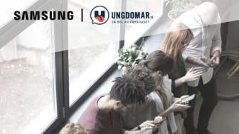 """Samsung och Fryshuset släpper nu rapporten """"Mitt uppkopplade liv"""" där unga ger sin bild av livet på nätet."""