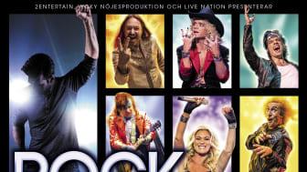 Rock of 80s till Helsingborg Arena