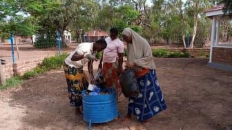 Iterio stöttar sophantering i Burkina Faso