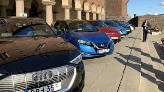 Prisutdelning till Miljöbästa Bil 2019 vid Stockholms stadshus