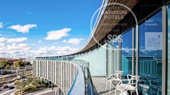 Radisson Blu Hotel, Uppsala är certifierade enligt  Radisson Safety Protocol