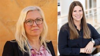 Veronica Magnusson Hallberg, Ordf. Svenska Downföreningen och Anna-Stina Hallberg, Marknadschef Spendrups
