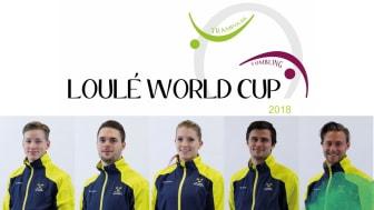 Sveriges representanter på Loulé World Cup 2018