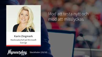 """#MNDAY16: """"Hoppas kunna inspirera till mer mod i vår bransch"""""""