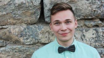 Robert Danielsson, studerar till webbutvecklare inom .NET CMS på Nackademin