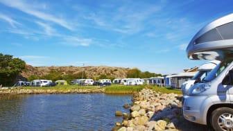 Intresset för camping och semester i Sverige fortsätter att öka.