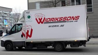 Widrikssons åkeri erbjuder transporter märkta med Bra Miljöval.