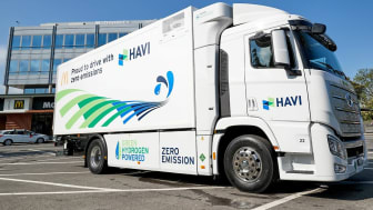 Klimaneutrale Fahrt für Big Macs mit grünem Wasserstoff-LKW