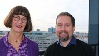 Magnus Lunderquist (KD), ordförande och Cristina Glad (L), vice ordförande för Region Skånes kulturnämnd ser fram emot arbetet med prioriteringar i verksamhetsplan och budget för 2019.