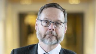 Johan Sterte, rektor vid Karlstads universitet