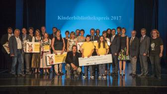 Verleihung des Kinderbibliothekspreises am 27.6. in Ursensollen.