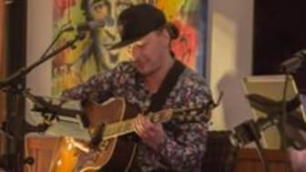 Gitarristen Marcus Strandman