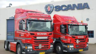 15 nye Scania Ecolution-lastbiler til K. Hansen Transport AS
