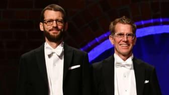 Tobias Kuemmerle & Scott Creel at the Academy's Commemorative Meeting Jan 28, 2018. Photo: Erik Cronberg/KSLA.