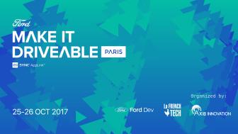 Make it driveable - a Ford App link mobilitás-megoldás versenye start-upoknak