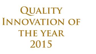 Tre organisationer med tydligt fokus på kund- och samhällsnytta tilldelas Quality Innovation of the Year 2015