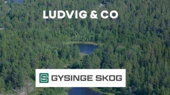 Fastighetsförmedling av bolagsskog på uppdrag åt Gysinge Skog är i hamn