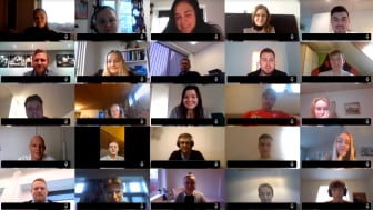I år har Bygma for første gang holdt virtuel elevintroduktion