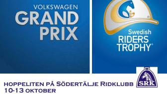 Södertälje laddar för Volkswagen Grand Prix och Swedish Riders Trophy