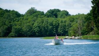 Antalet fritidsbåtar har ökat både på Göta kanal, Kinda kanal och i Östgötaskärgården.