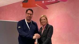 AirGotland och Visby Innebandyklubb ingår långsiktigt sponsoravtal