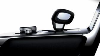 En glimt av interiören i Mazdas nya elbil