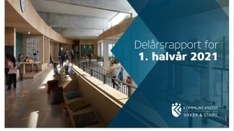 KommuneKredit offentliggør Delårsrapport for 1. halvår 2021