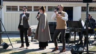 Musikalfrossa på äldreboende