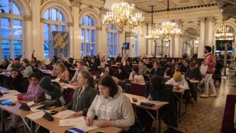 Ungdomsfullmäktige gör den 20 november till ett event om barns rättigheter. Bild: Göteborgs Stad